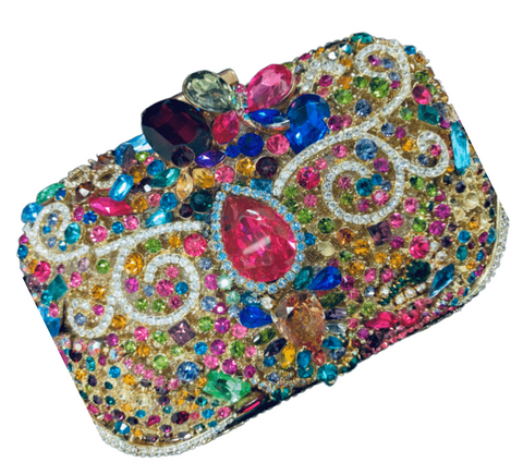 Bianca Crystal Purse