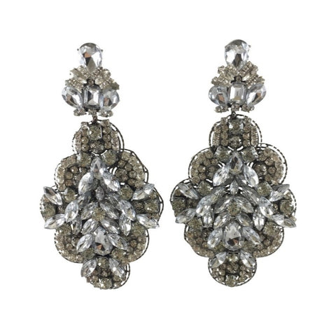Rihana Crystal Earrings
