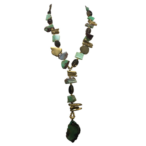 Fortuna Stone Necklace