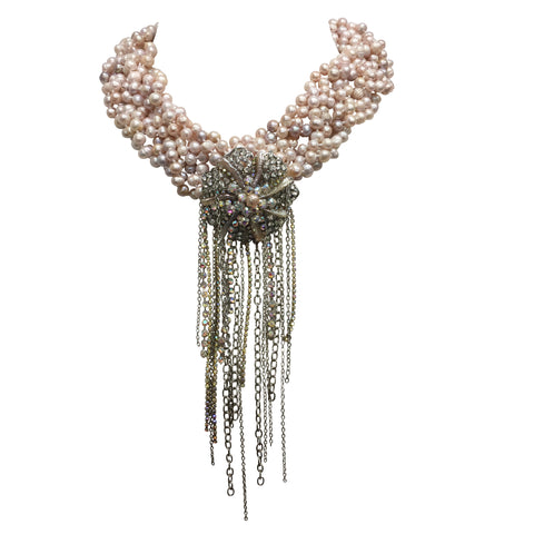 Alina Crystal Necklace