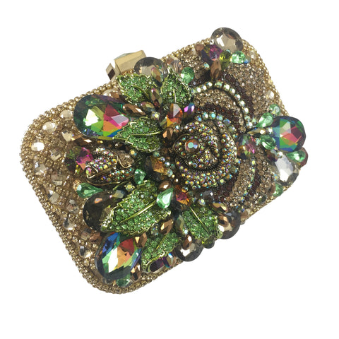 Leila Crystal Purse