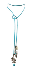 Fabianne Turquoise Genuine Leather