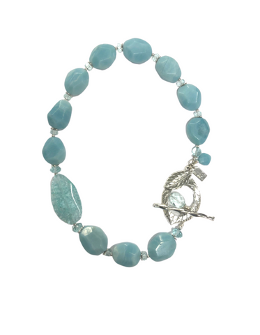 Idalene Amazonite and Quartz