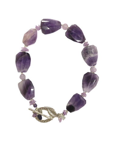 Isabella Purple Crystal Quartz
