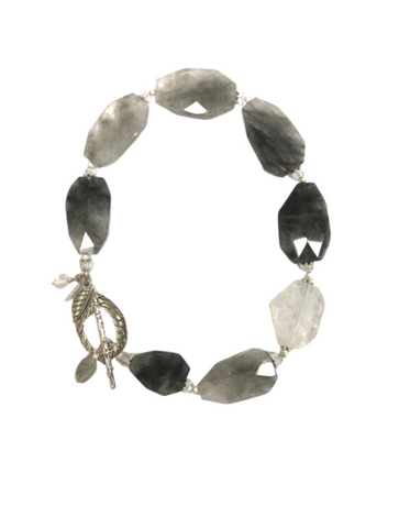 Iola Tourmalinated Quartz