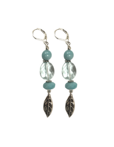 Idette Amazonite and Quartz