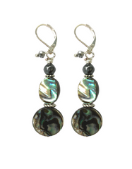Francie Abalone and Hematite