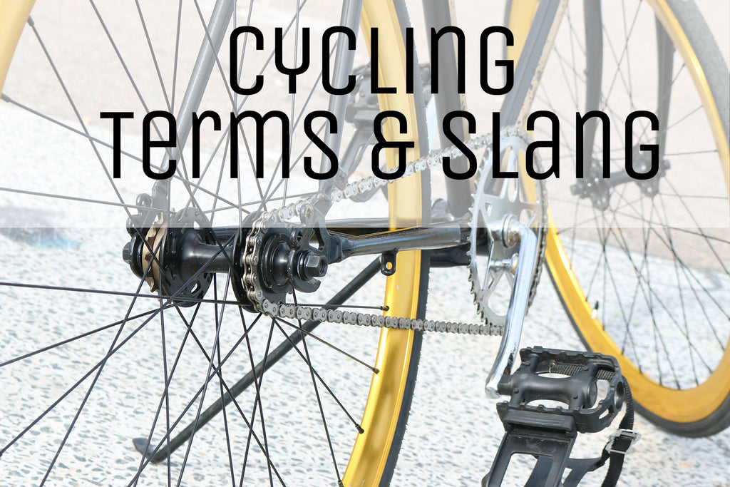 Cycling Terms & Slang
