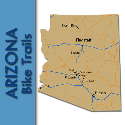 Arizona Bike Trails Map