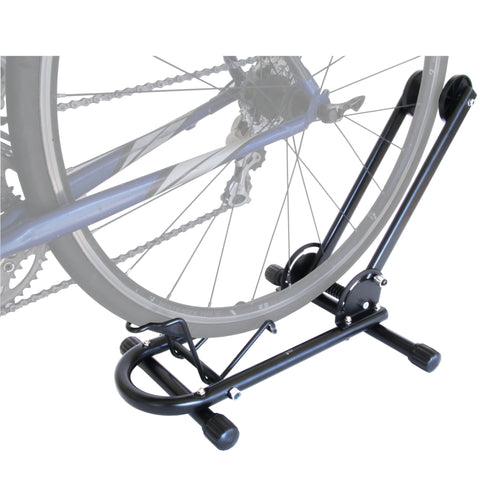 "Lumintrail Bike Floor Storage Stand for 24""-28"" Mountain Bikes and 650C -700C Road Bikes - Push-in Design"