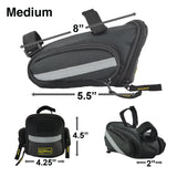 Saddle Bag Bike Wedge Medium or Large
