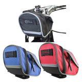 Bicycle Wedge Tube Saddle Bag with Adjustable Straps