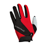 cycling gloves red