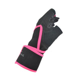 Half Finger Weight Lifting Gloves with Wrist Wrap