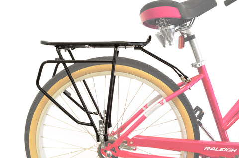 Rear Frame Mounted Bike Cargo Rack for Non-Disc Brakes