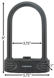 Bicycle Combination U-Lock, Medium Security