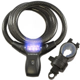 LK21051 Combination Cable Lock w/ LED Illumination