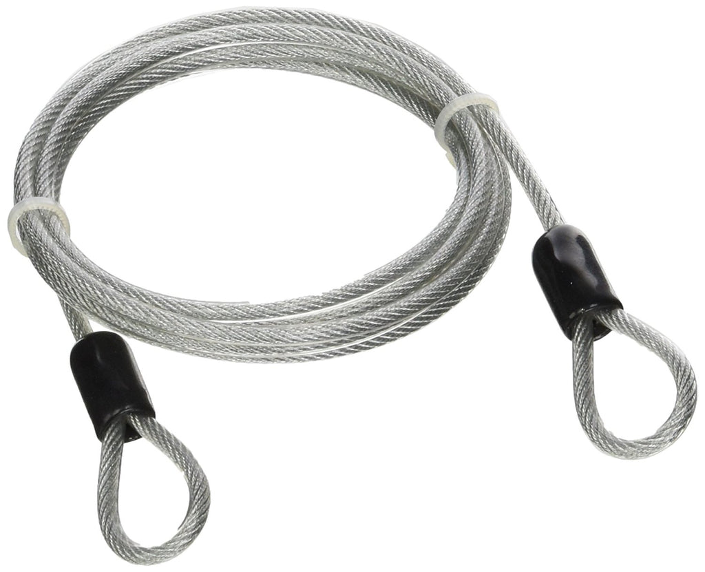 Steel Braided Security Cable : Security cable mm ft vinyl coated braided steel
