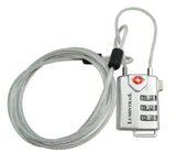 Digit Combination Travel Lock with Steel Cable