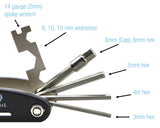 Bicycle 18-Function Multi Tool