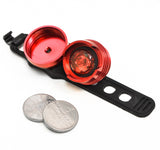 Bike Tail Light with Battery