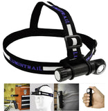 Headlamp Angled LED Head Flashlight