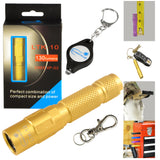 Keychain Flashlight LED 130 Lumen with Magnetic Tail-Cap