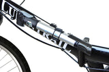 Mini Bike Pump Rotating Dual Nozzle Head with Built-in Gauge