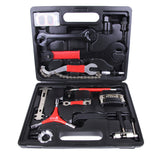 Lumintrail 38 Piece Bike Tool Kit Bicycle Repair Tool Box for Mountain and Road Bikes with Storage Case