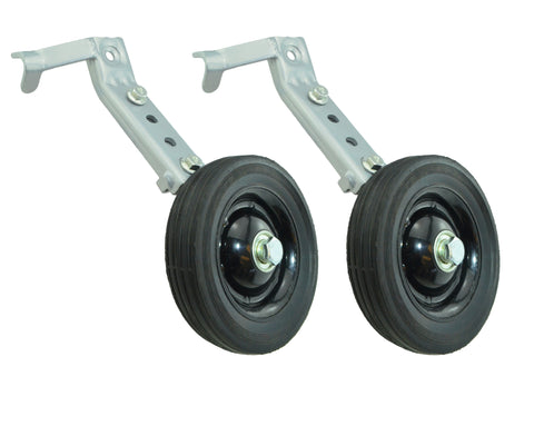 "Heavy Duty Bike Training Wheels Adjustable for 20"" to 26"""