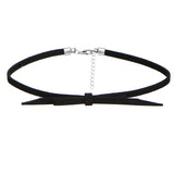 17KM 8 PCS/Set PU Leather Choker Necklaces Set for Women