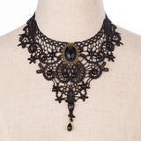 Handmade Gothic Retro Vintage Lace Necklace Choker