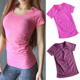 Women's Quick Drying Soft Top Breathable T-shirt