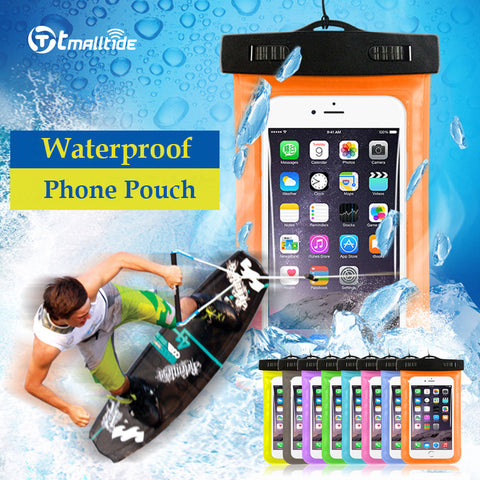 Universal Waterproof Cell Phone Pouch with Strap Case Covers