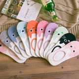 Womens Cute Summer Low Cut Cat Ankle Socks