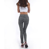 Ladies Activewear Leggings Pink Green Light Grey Legging High Waist