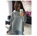 Women's Winter Scarf Collar Long Sleeve Fashion