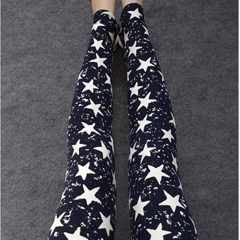 Women's Sport Fall Fashion Floral Print Leggings