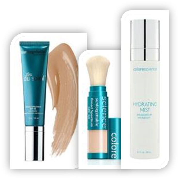 Limited Colorscience Kit $160 with FREE Hydrating Mist AND Clear Colorescience Zip Purse