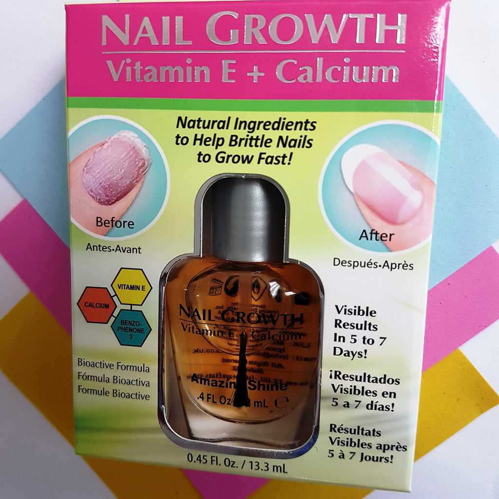 Amazing Shine Nail Growth Vitamin E + Calcium – NZoogle