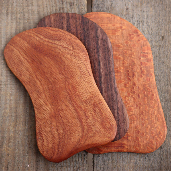 wood gua sha tools plum brilliance