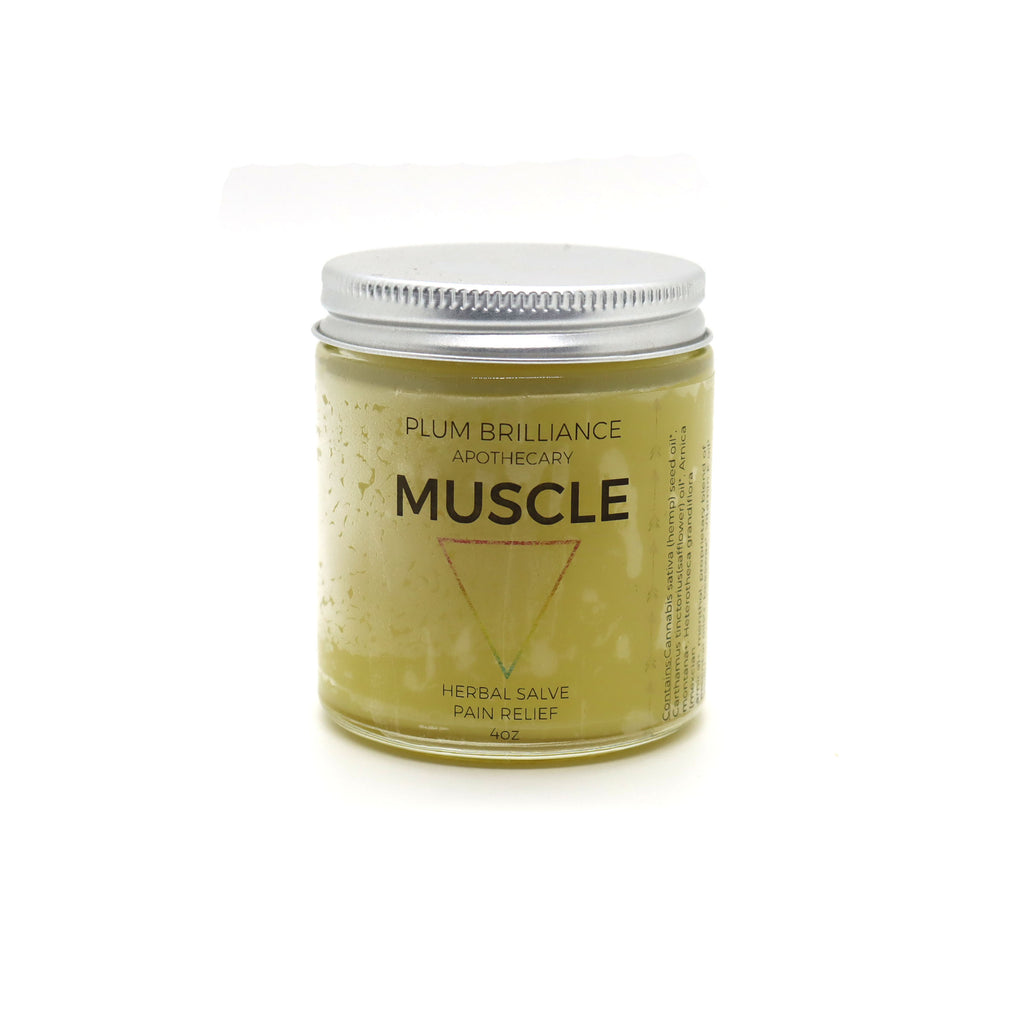 herbal muscle and joint pain relief balm