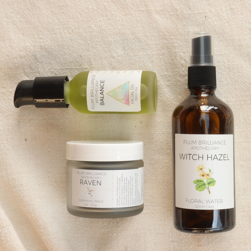 skincare gift set for oily or breakout acne prone skin
