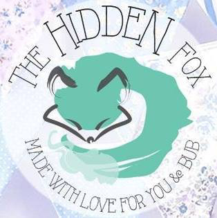 The hidden fox logo