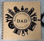 Fathers day keepsake book - Binky's creations