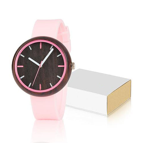 Women's Fashion Watches | Colorful Silicone Straps - Urban Bamboo