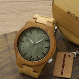 Ghost Eyes Bamboo Wood Wristwatch - Urban Bamboo