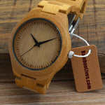 Rich Wood Watch - Men/Women - Urban Bamboo
