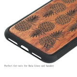 iPhone X Original Wood Cell Phone Case - Urban Bamboo