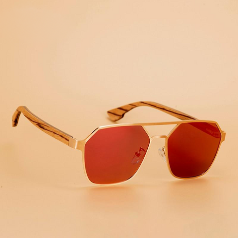 Vintage Polarized Sunglasses - Urban Bamboo